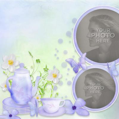 digital scrapbooking kits summer tea party template seasons