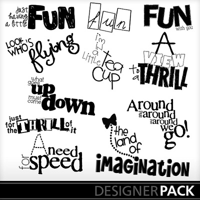 clip art amusement parks word design printmaster