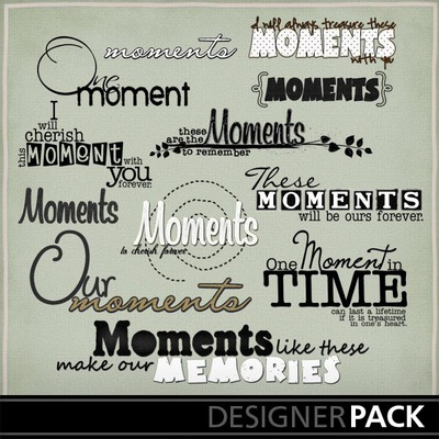 Our_moments_word_art