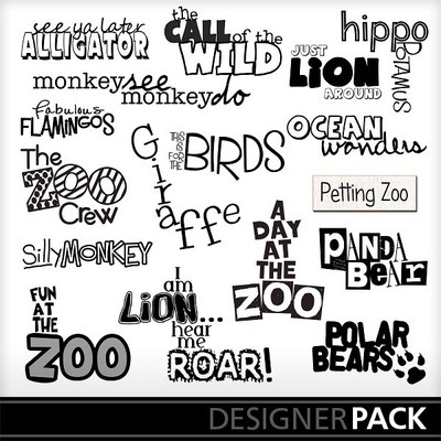 At_the_zoo_word_art_vol