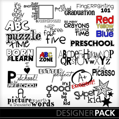 Preschool_word_art