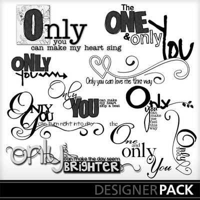 Only_you_word_art