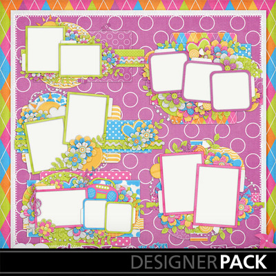 Girls-just-wanna-have-fun-cluster-frames