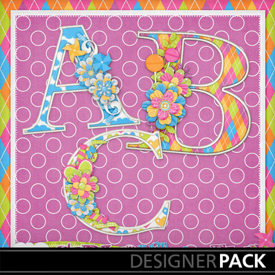 Girls-just-wanna-have-fun-decorated-monograms1