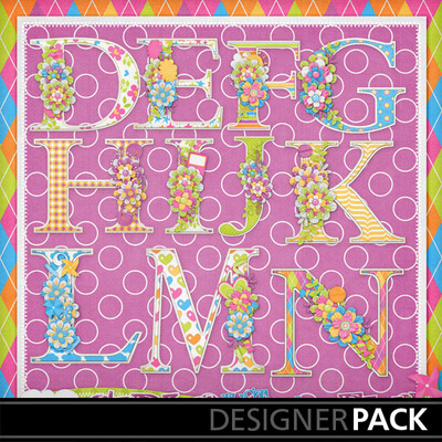 Girls-just-wanna-have-fun-decorated-monograms2