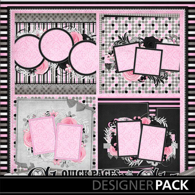 Glamour-n-glitz--quick-pages