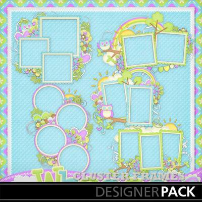 Who-love-spring-cluster-frames
