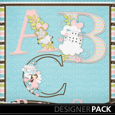 Bedtime-stories-girl--decorated-monograms