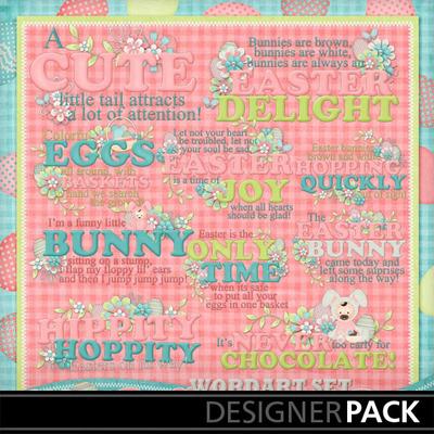 Bunny-hop-wordart