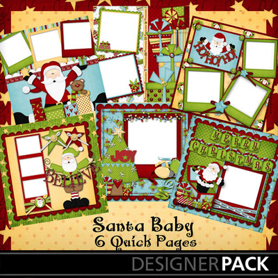 Santa_baby_quick_pages