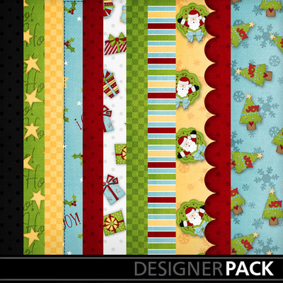 Digital Scrapbooking Kits Santa Baby Jsscrap Holidays