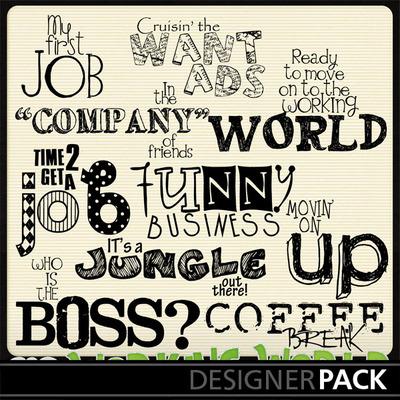 Working-wordart