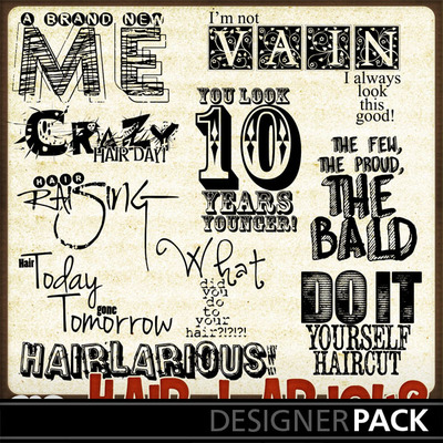 Hairlicious_wordart_set