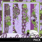 Purple_petals_borders_medium