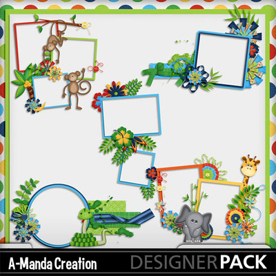 Jungle_adventures_cluster_frames