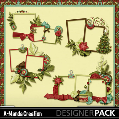 Christmas_traditions_cluster_frames