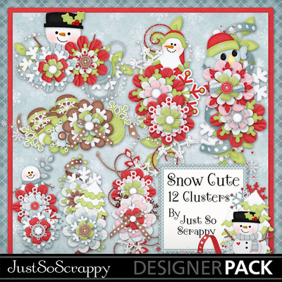 Snow_cute_cluster