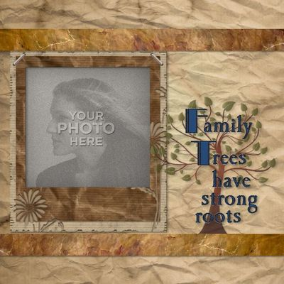 family tree photo book