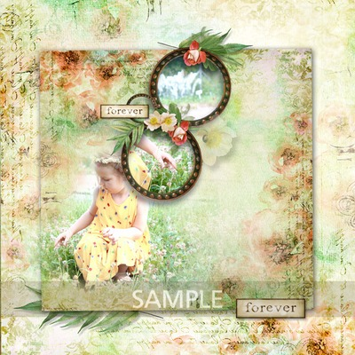 Digital Scrapbooking Kits My Family Template Agnes Family