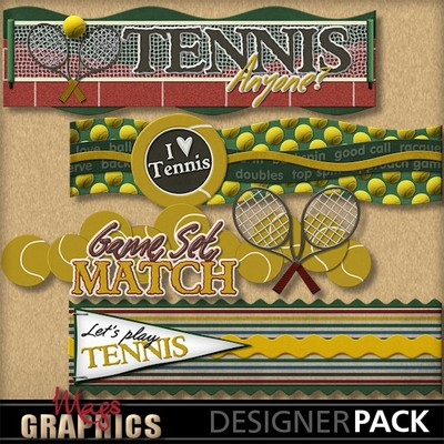 Tennis-borders