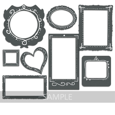 Clip Art | Chalkboard Frames-(aniaw) | Boys, Celebrations ...