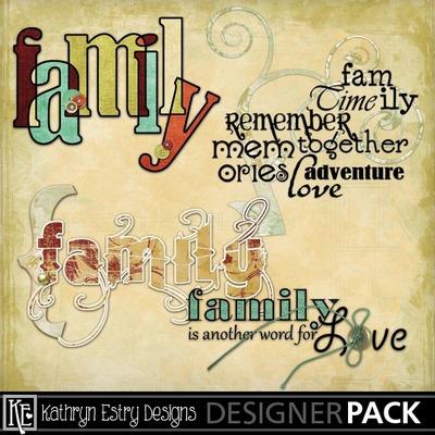 LaFamille Word Art Lafamille 1