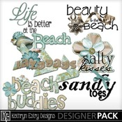 Monica_beach_word_art_medium