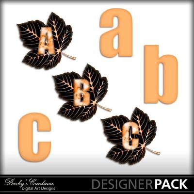 Autumnleafmonogram