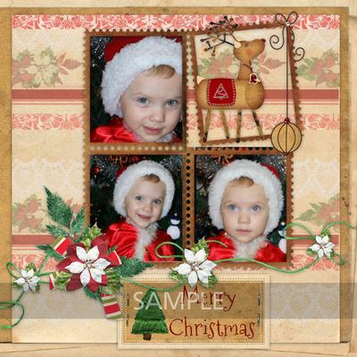 Vintage_christmas_-_cluster_frames_3