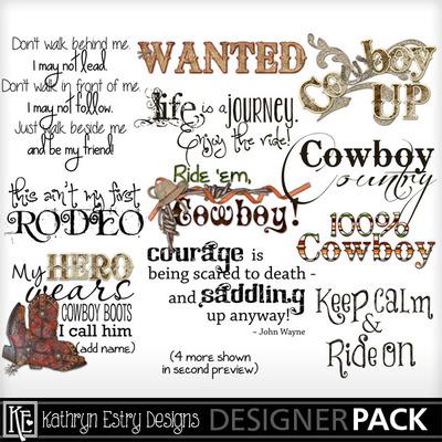 Cowboyspiritwordart01