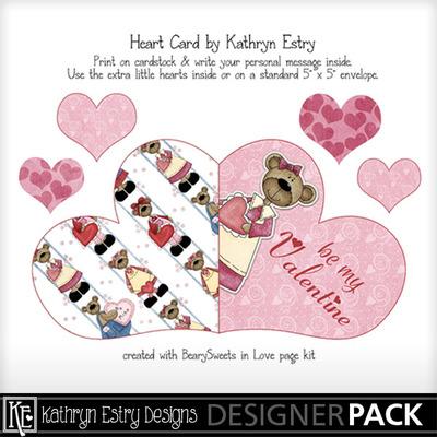 Heartcard-bearysweets