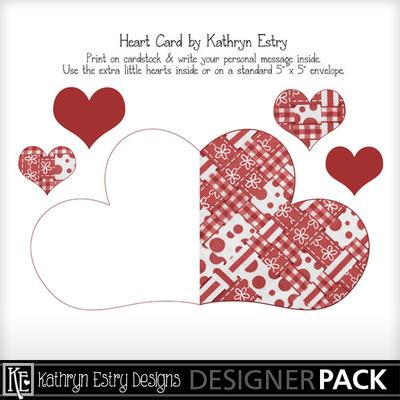 Heartcard-redribbons