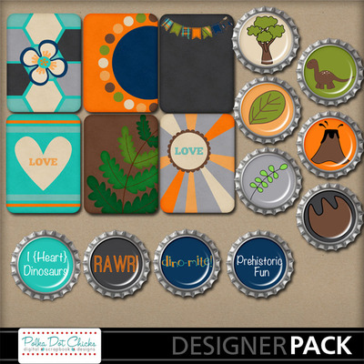 Pdc_mm_dino1_journals_bottlecaps