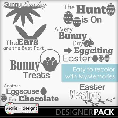 Easter-wordart