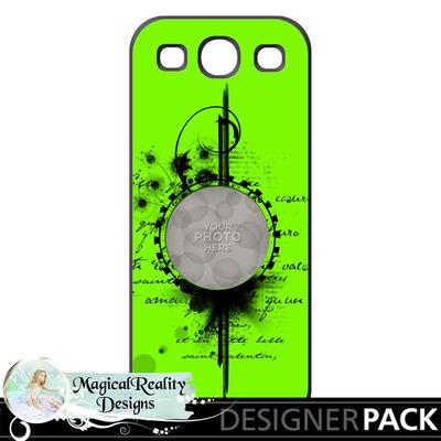 Samsungs3-case3green