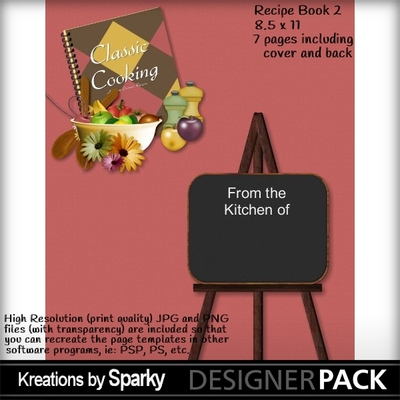 digital scrapbooking kits whats cooking recipe book 2 kbs48