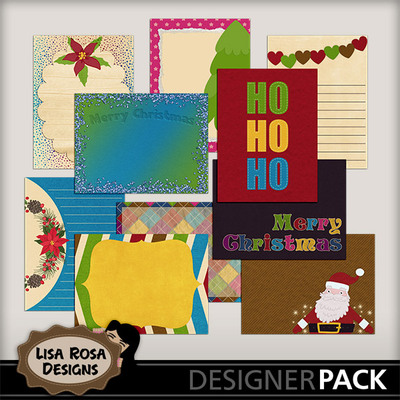 Lisarosadesigns_santaclausiscomingtotown_journalcards
