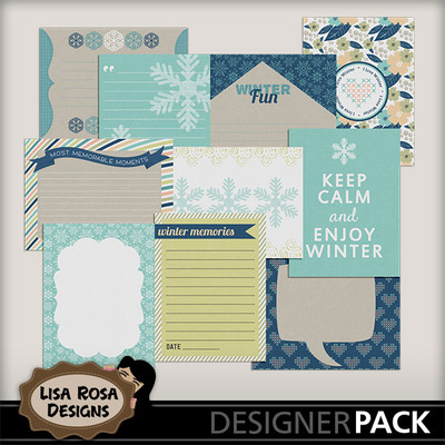 Lisarosadesigns_snowcold_journalcards
