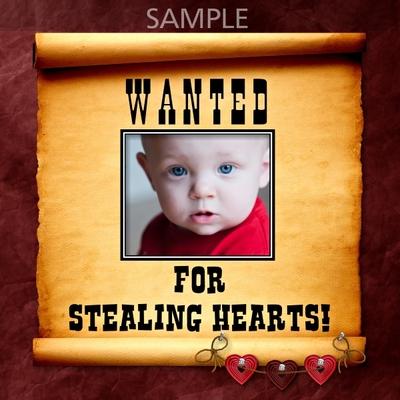 Digital Scrapbooking Kits | Wanted Poster Frames 1-(LLLCrtn ...