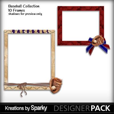 Digital Scrapbooking Kits | Baseball Frames-(kbs48) | Boys, Girls ...