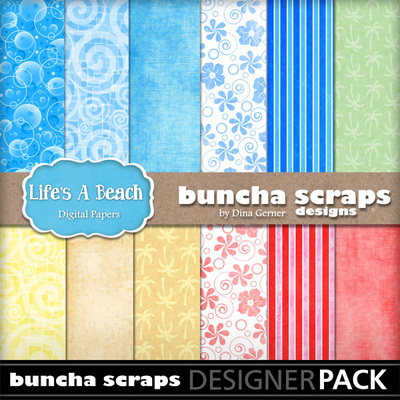Lifesabeachpaperpack