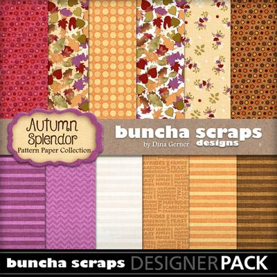 Autumnsplendorpatternpaper