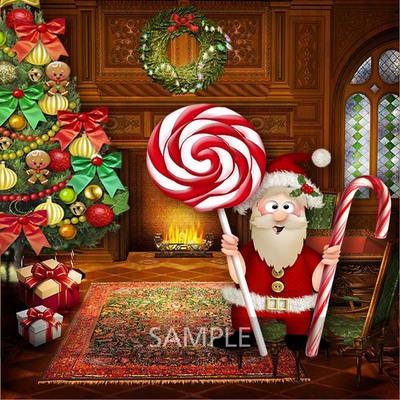 Santa_and_candies2