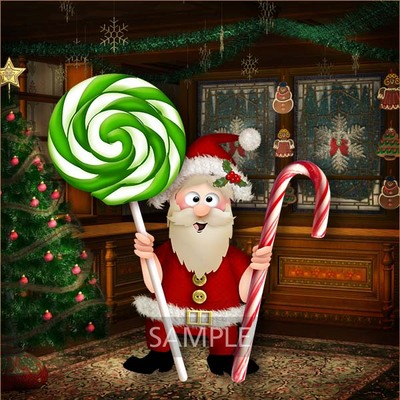 Santa_and_candies3