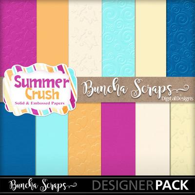 Summercrushsolidembossedpaper