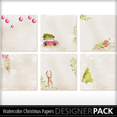 Watercolors_christmas_papers