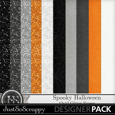 Spooky_glitter_papers