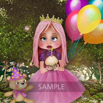 Princess_and_cake2