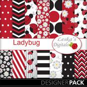 Ladybug_digital_paper_medium