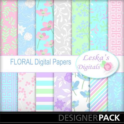 Floral_digital_papers